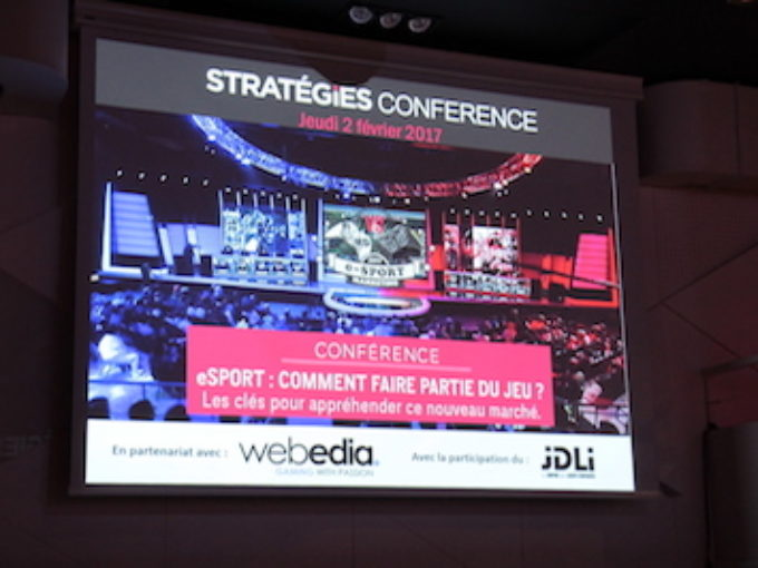 Retour sur la conférence «eSport: Comment faire partie du jeu ?»du 2 février 2017 :