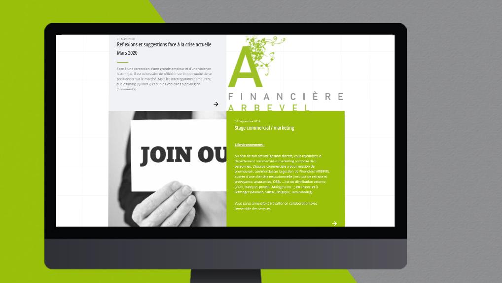 site web arbevel - Pix Associates