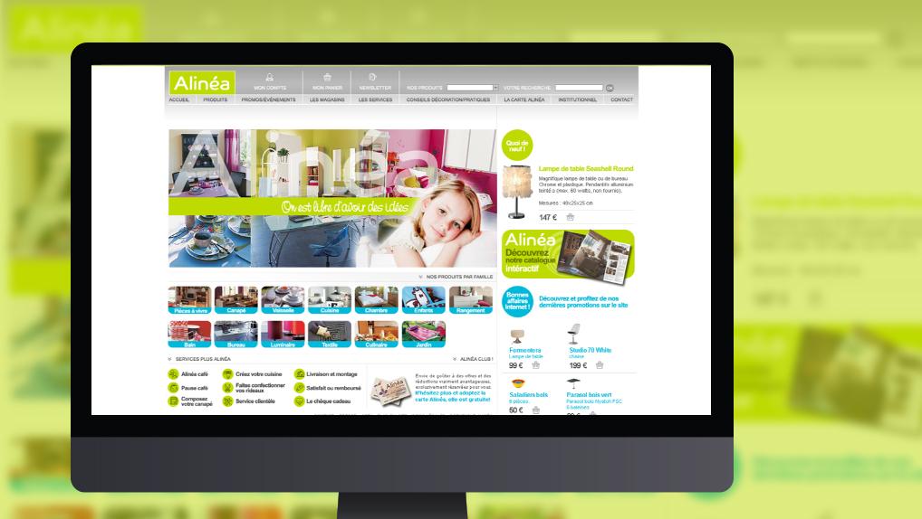 site web Alinea - Pix Associates