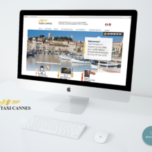Refonte du site Taxi Cannes